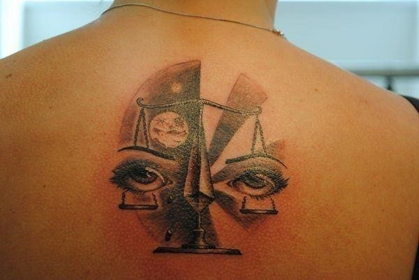 8 libra tattoos