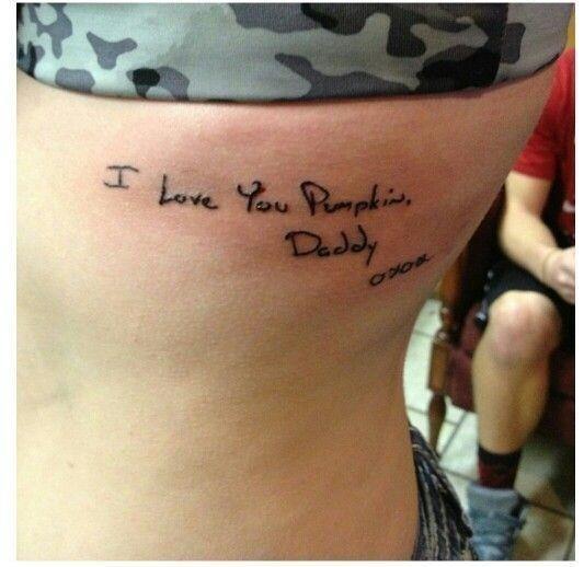 82857b5366da2d8752e34d0fda83dc2b  daddy daughter father daughter tattoos