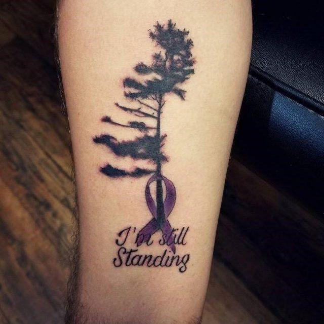 9a3877db115b0fd57d0fccb8ab611d04  lung cancer tattoos cancer ribbon tattoos