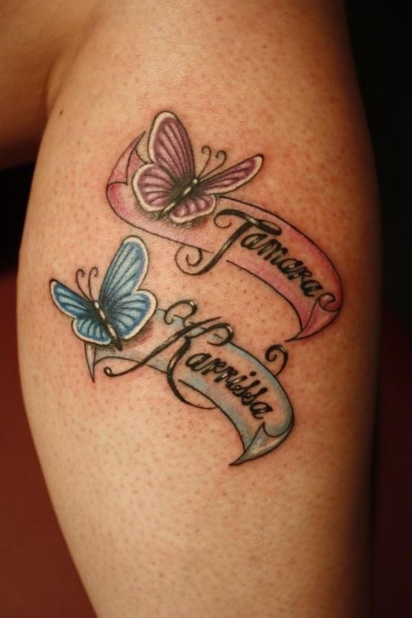Adorable Ideas of tattoos with kids names0331