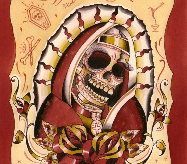 Alejandro Cervantes Tattoo Mexican Family Cagliari Italy F