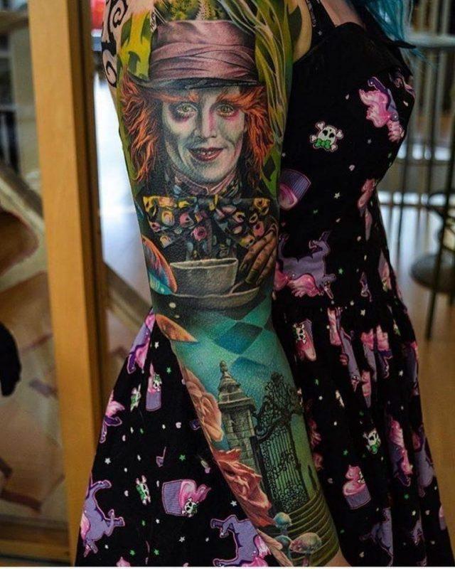 Alice in Wonderland Tattoo 106 765×956