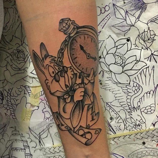 Alice in Wonderland Tattoo  12