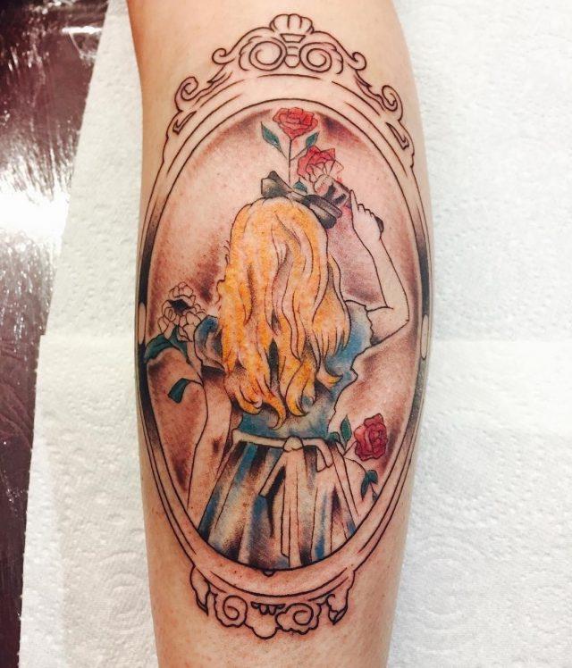 Alice in Wonderland Tattoo  40