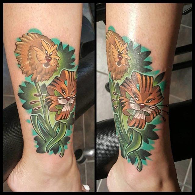 Alice in wonderland tattoos 2