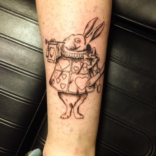 Alice in wonderland tattoos 26