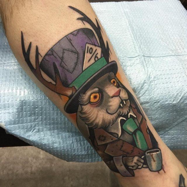 Alice in wonderland tattoos 35