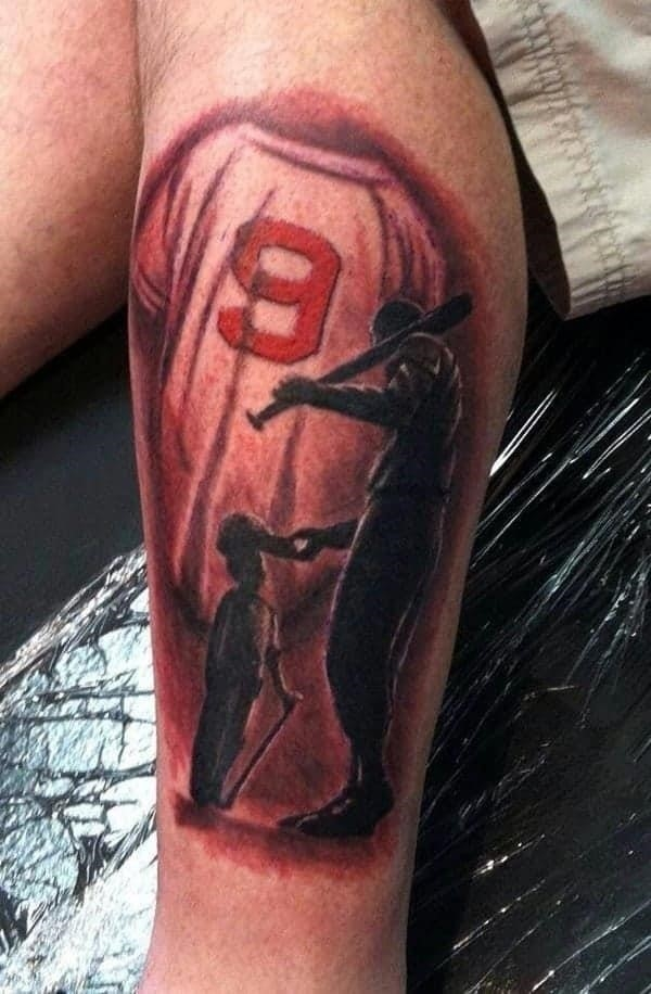 Amazing baseball tattoos ideas0301