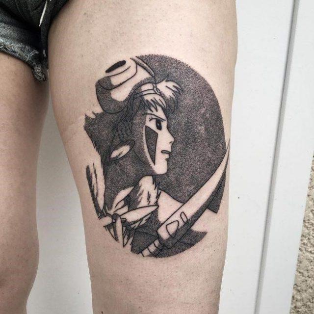 Anime Tattoo 54 650×650