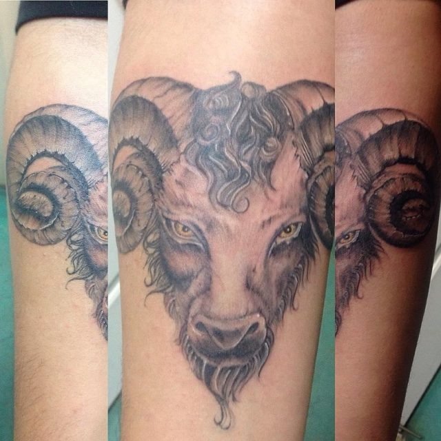 Aries Tattoos  18