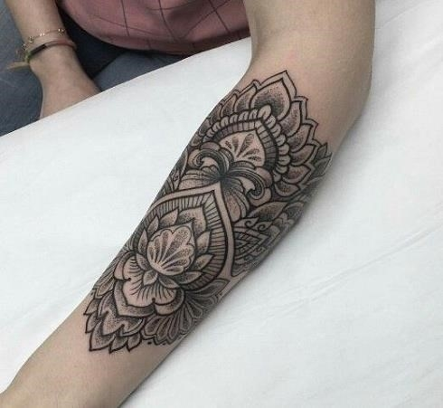 Arm Special Mandala Tattoo