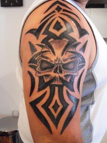 Arm Tattoos Tribal