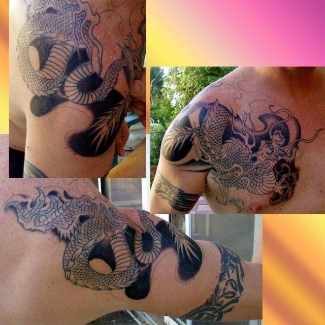 Asian Dragon Tattoos 171