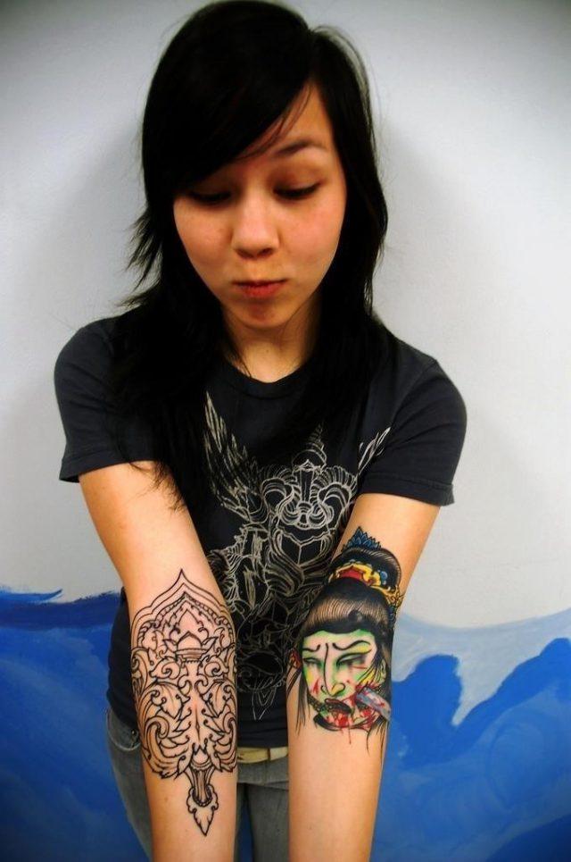 Asian Tattoo Design