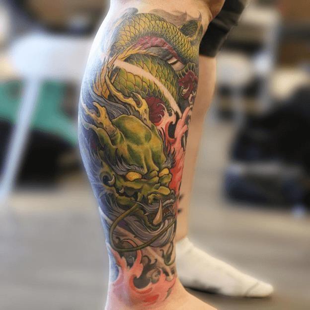 Asian Dragon Tattoos 1 1