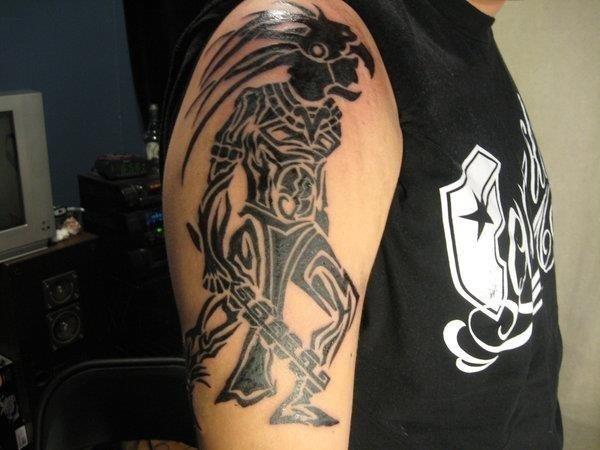 Aztec Warrior Tribal Tattoos1