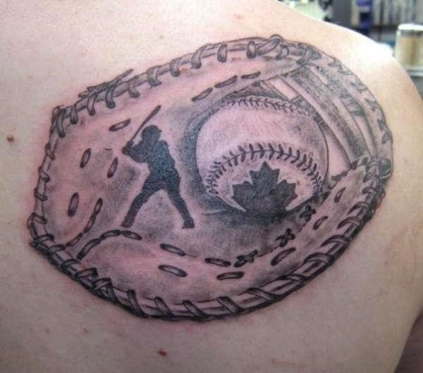 Baseball tattoo designs and ideas 1