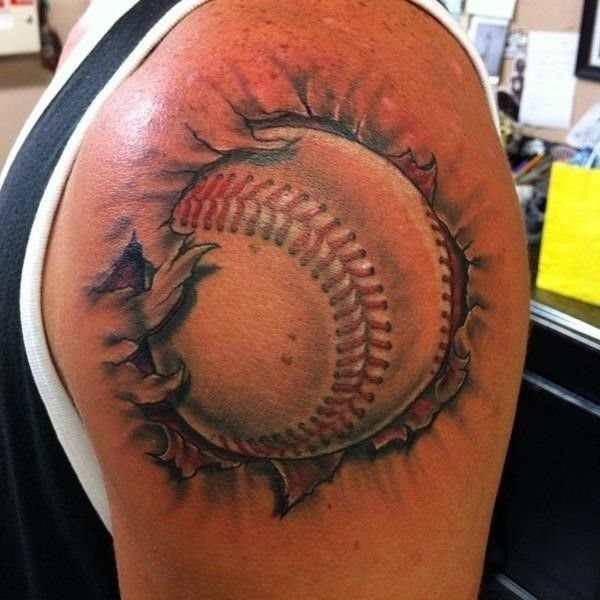 Baseball tattoo designs and ideas 22