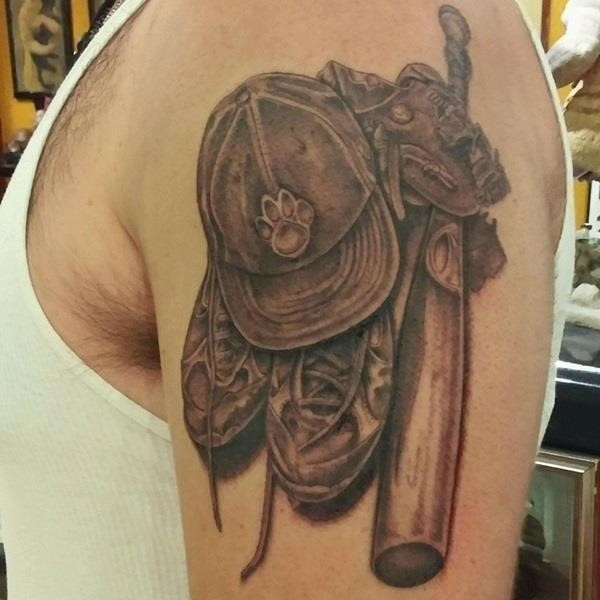 Baseball tattoo designs and ideas 23