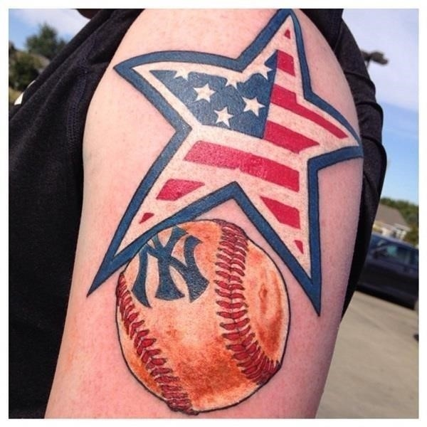 Baseball tattoo designs and ideas 28