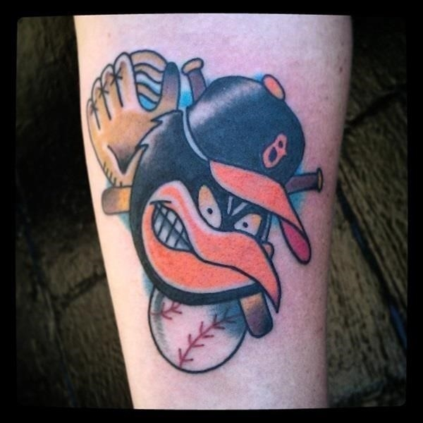 Baseball tattoo designs and ideas 29