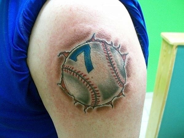 Baseball tattoo designs and ideas 40