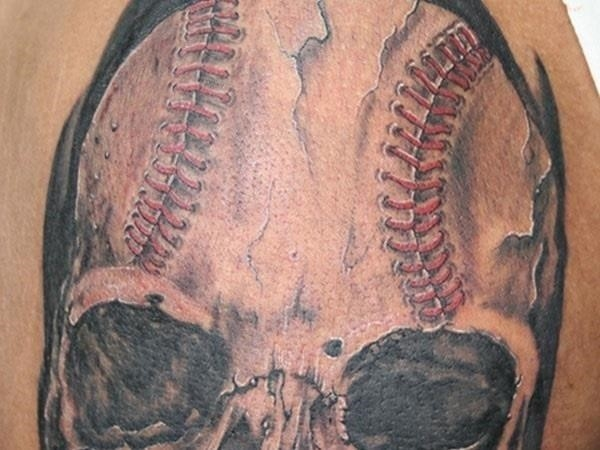 Baseball tattoo designs and ideas 47