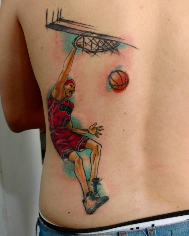 Basketball Tattoo  3
