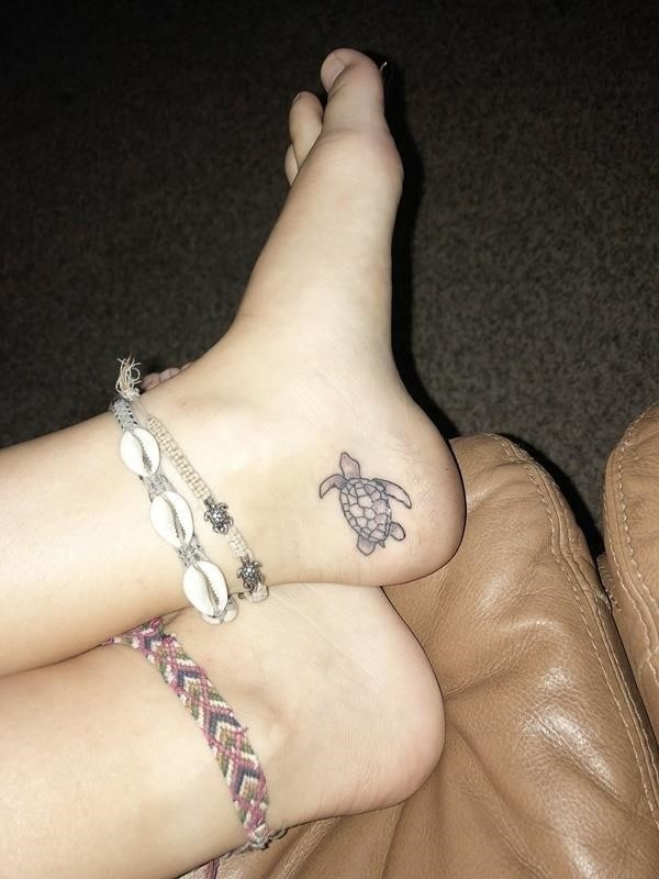 Beautiful Example Of Sea Turtle Tattoo With Their Meanings 3 1