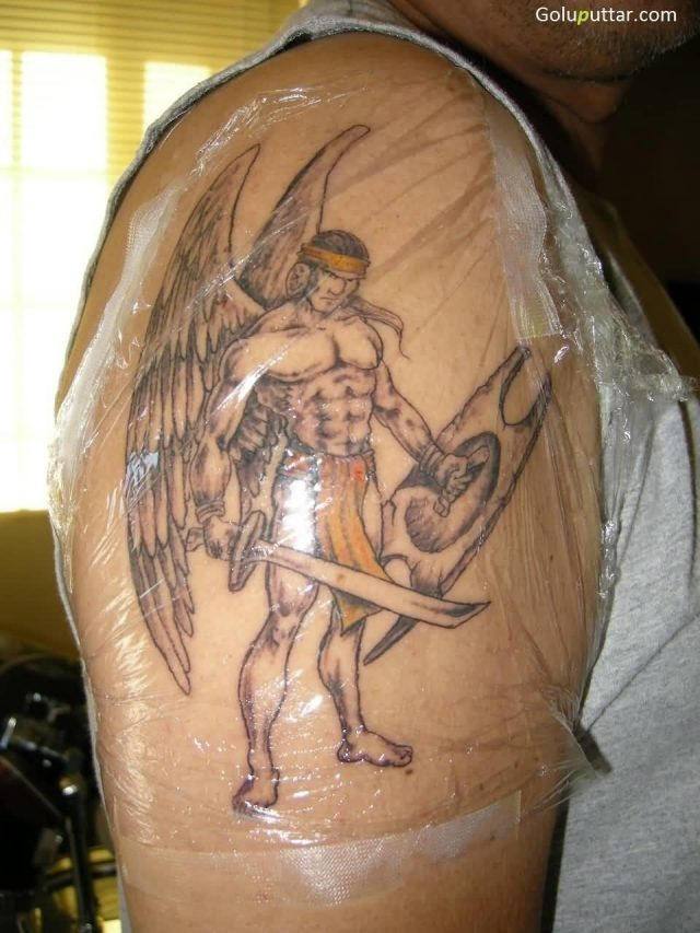 Best Angel Warrior Tattoo Made By Expert Copy