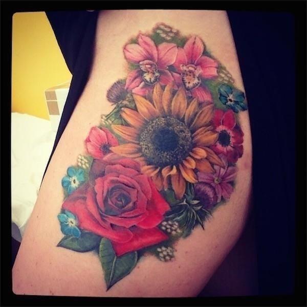 Best Flower Tattoos 85