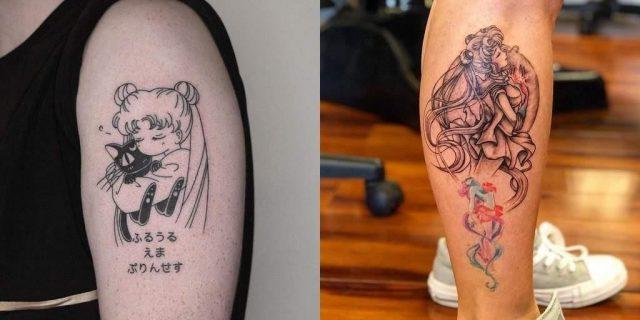 Best Sailor Moon Tattoos