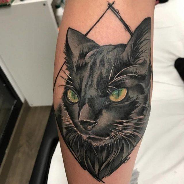 Black Cat Tattoo 61 765×765