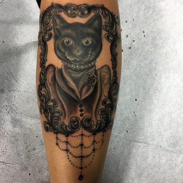 Black Cat Tattoo 64 765×765