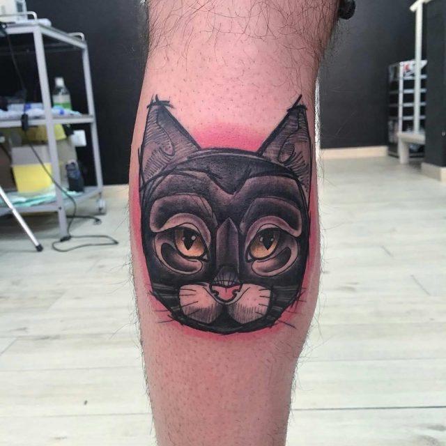 Black Cat Tattoo  4