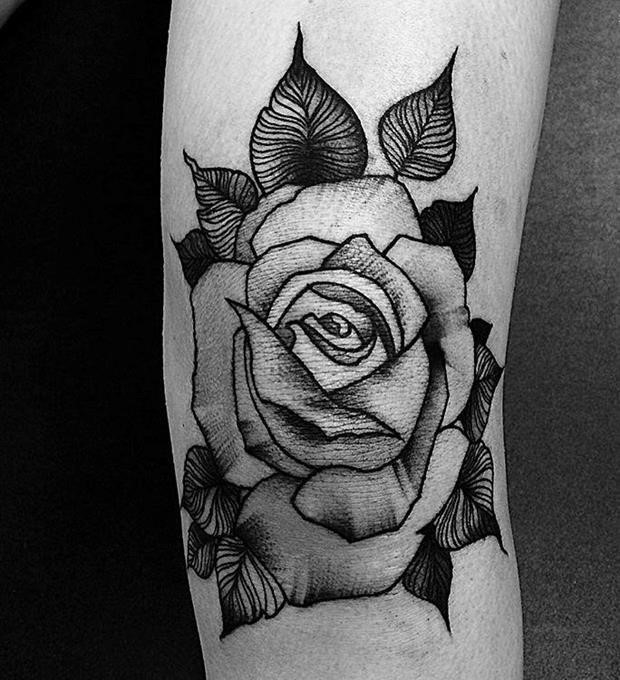 Black Rose Tattoo 39