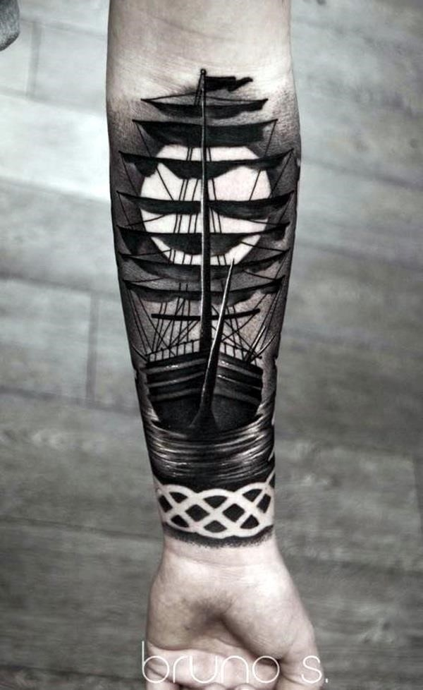 Black and Grey Tattoos Designs 2