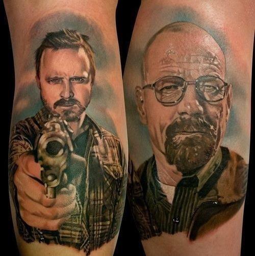Breaking Bad Cast Tattoo