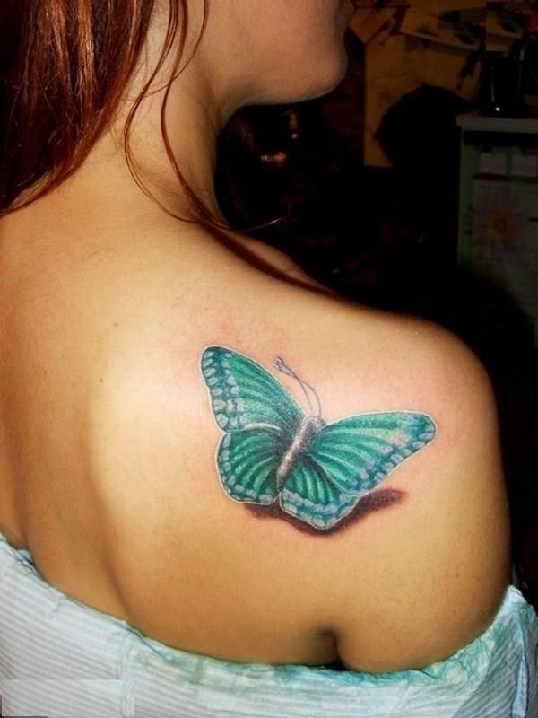 Butterfly Tattoos for Girls 9