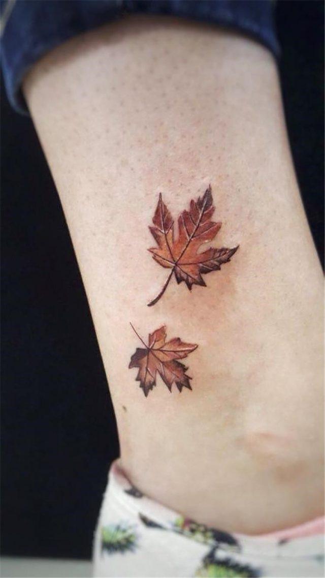 Canadian Maple Leaf Tattoo 13 1
