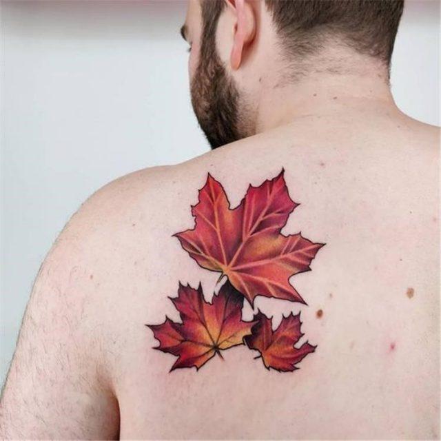 Canadian Maple Leaf Tattoo 8 1