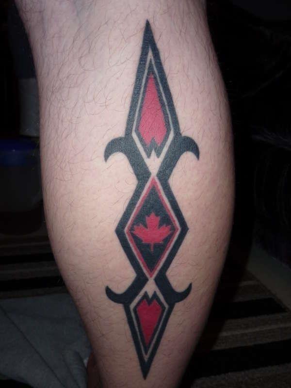 Canadian Tribal tattoo 78991