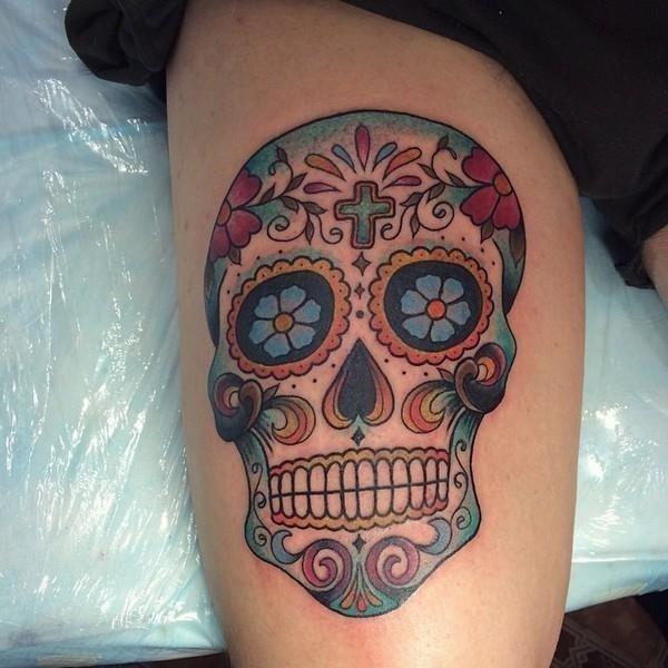 Candy Skulls Tattoos