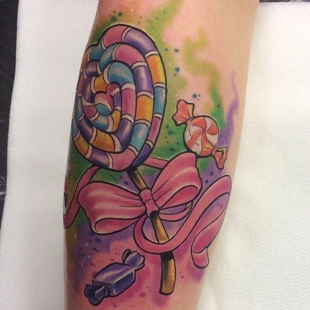 Candy Tattoo Photos