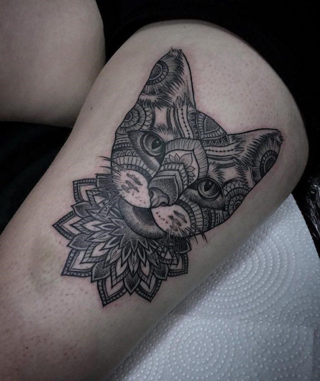 Cat Tattoo 80 765×911