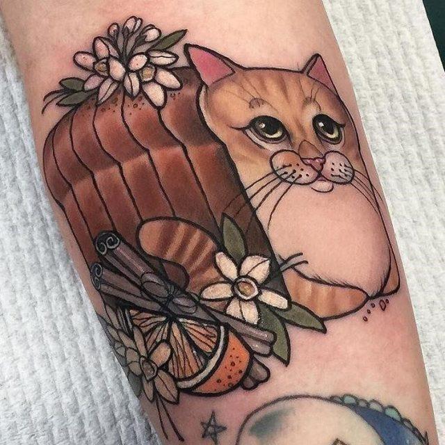 Cat Tattoo  1
