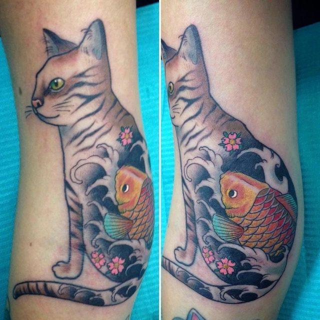 Cat Tattoo  11