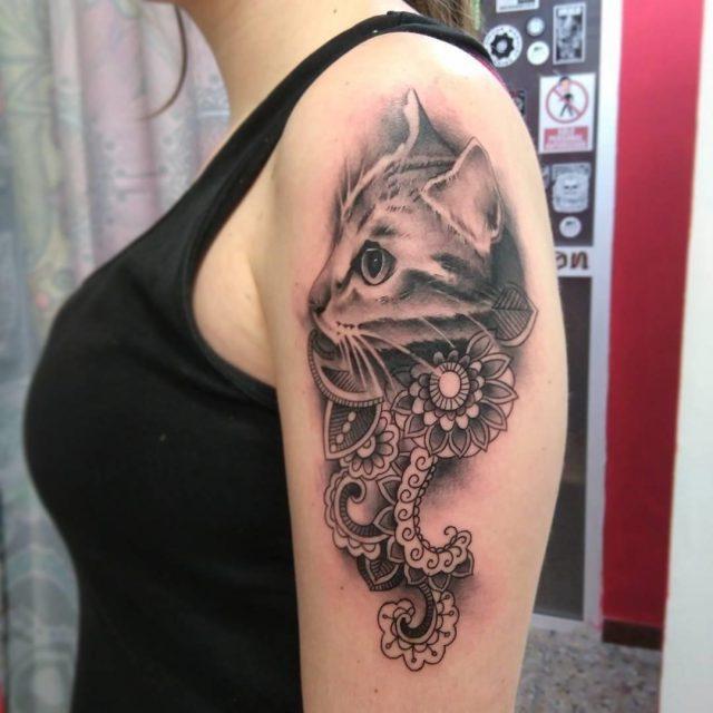 Cat Tattoo  8