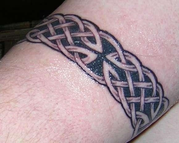Celtic Knot Tattoos On Biceps