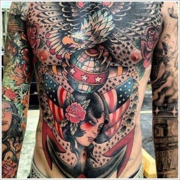 Chest Tattoos for Men 50